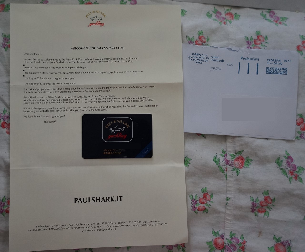 карточка Paulshark