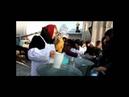 Благовещенцы набирают святую воду на Крещение