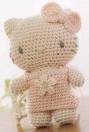 Все рукотворчество hello kitty схема вязания игрушки крючком кошечка хелло китти hello.