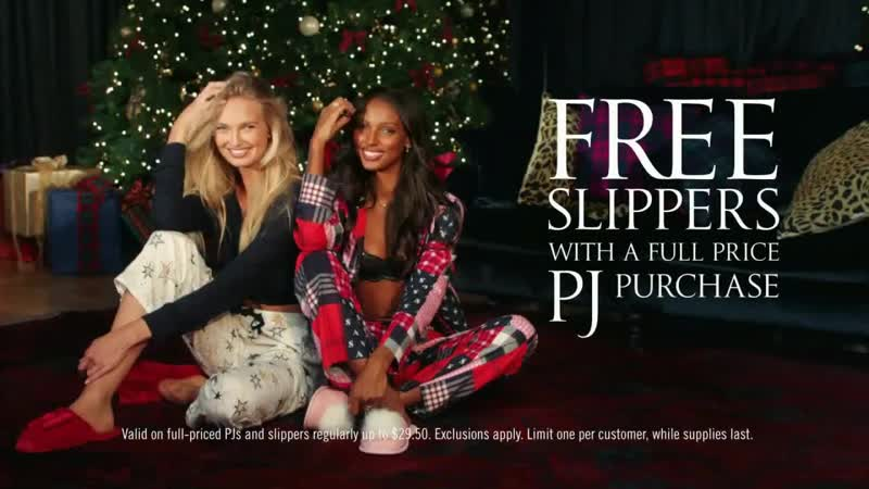 Victorias Secret Pajamas Slippers Offer TV Commercial