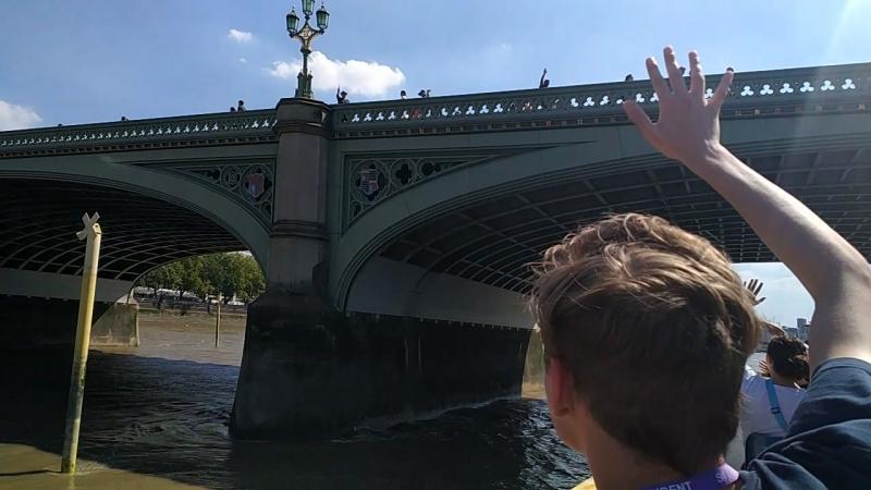прогулка по Темзе