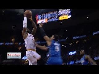 LeBron James Dunks on Nikola Vucevic | Magic vs Cavaliers | October 29, 2016 | 2016-17 NBA Season