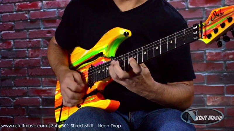 Suhr 80's Shred MKII - Neon Drop | N Stuff Music