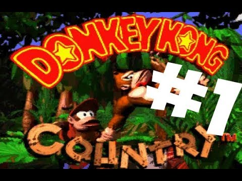 Donkey Kong Country часть первая 1