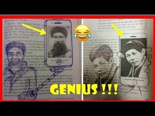 Pasti pernah !!! Coretan buku anak jenius di sekolahan