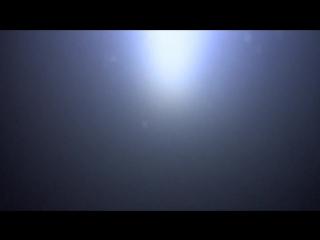 Экшн камера подо льдом с фонариком