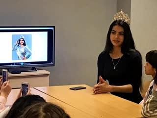 Видео-отчет о встрече с Мисс Земля 2017 - Ладой Акимовой