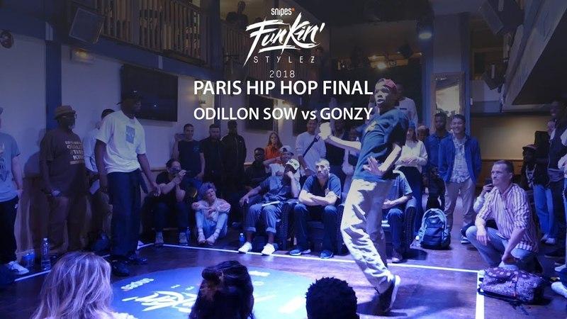 Funkin' Stylez Paris preselections - Hip hop final : Odillon Sow vs Gonzy | Danceproject.info