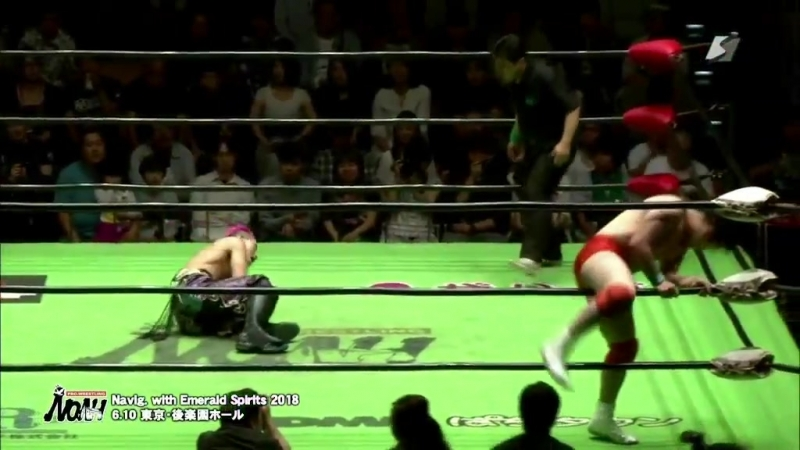 Junta Miyawaki vs. YO-HEY (NOAH - Navigation with Emerald Spirits 2018)