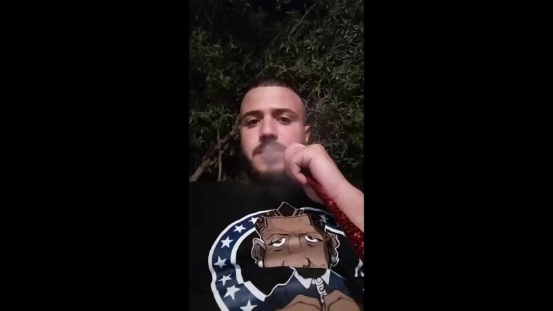 Smoking the shit