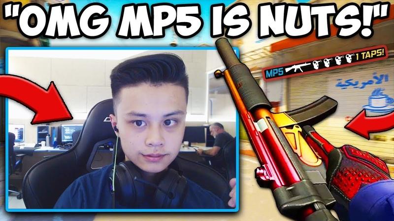 STEWIE2K SHOWS SECRET WARMUP! MP5 is NUTS! CS:GO Twitch Clips
