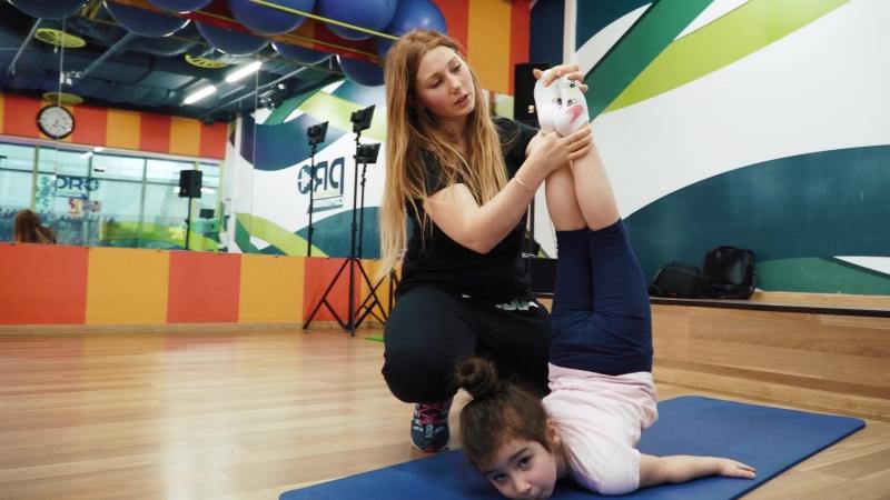 Занятия по хореографии для детей