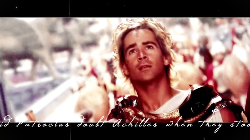 Alexander/Hephaistion and Achilles/Patroclus Tribute