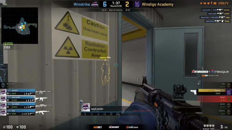 WayLander ACE vs Windigo Academy