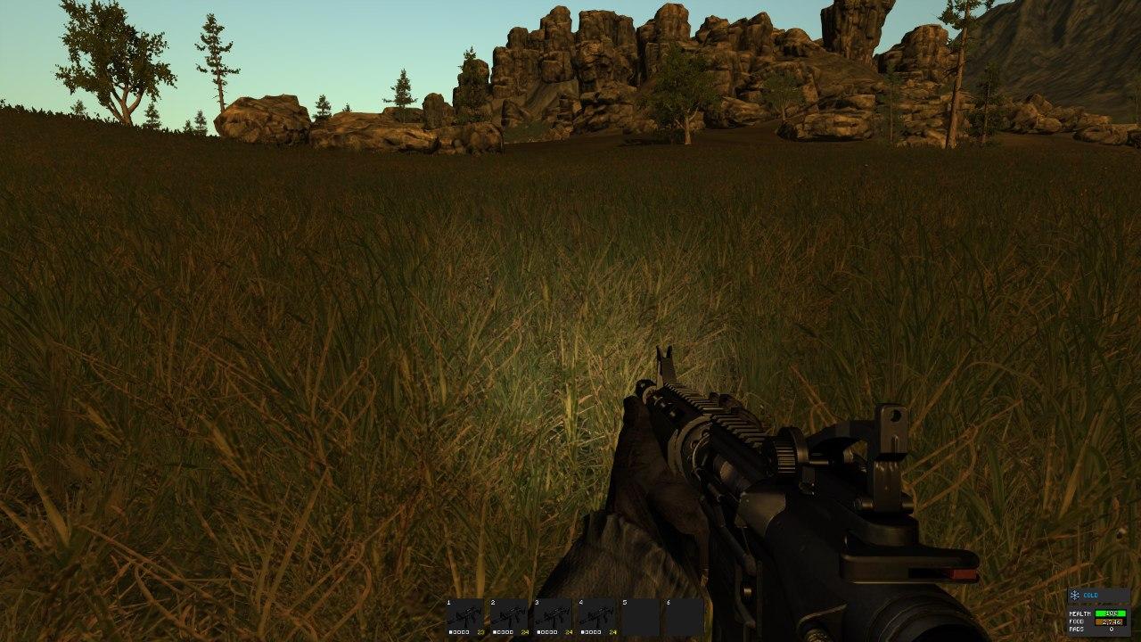 Как выглядит Flashlight Mod в Rust