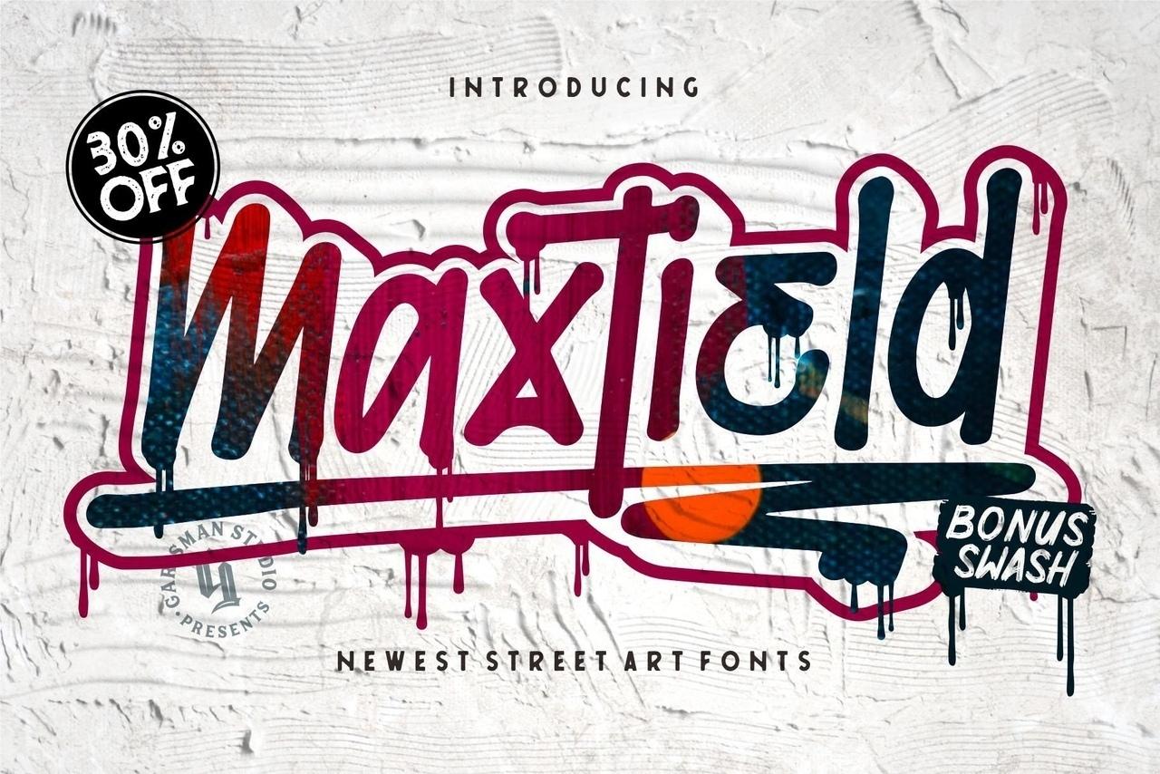 Шрифт - Maxtield