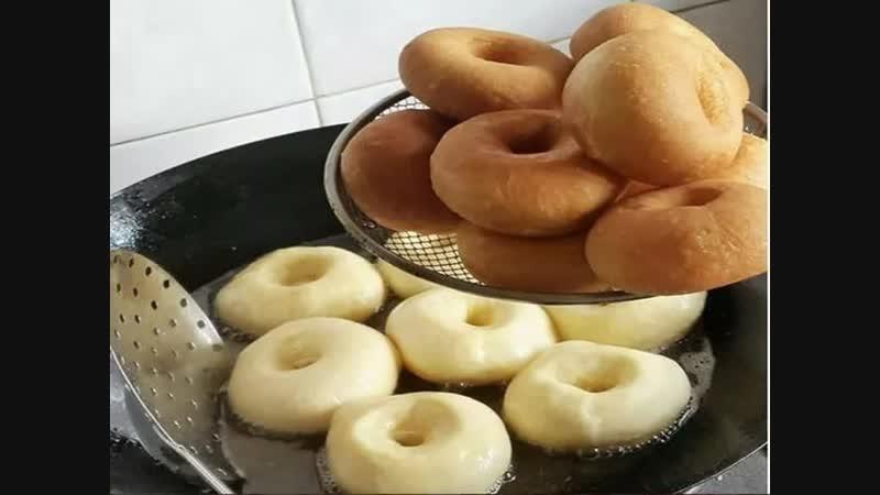 Пончики- нежные, безумно вкусные - от них невозможно оторваться!