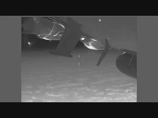 Американский EP-3 был перехвачен российским СУ-27 над Чёрным морем