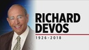Rich DeVos, Amway co-founder and philanthropist, dies