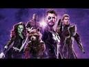 Стражи галактики спасают Тора! Момент из фильма Мстители Война бесконечности
