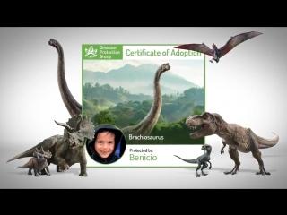 Help save the dinosaurs of Isla Nublarcelebrate NationalDinosaurDay and adopt a dino today! Visit