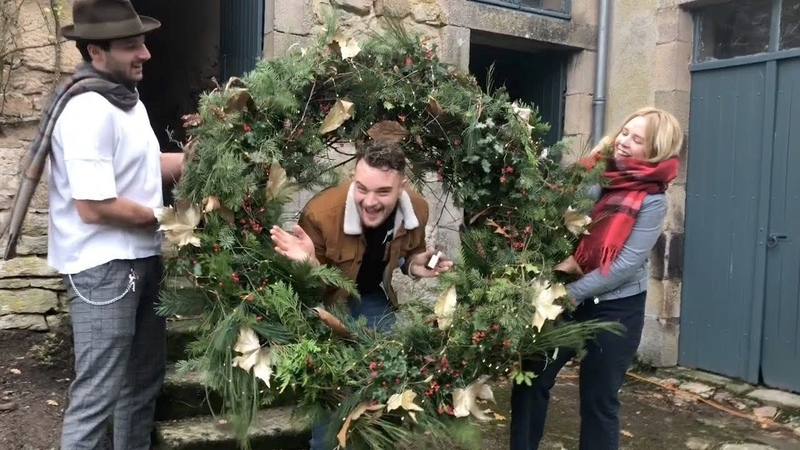 The Chateau Diaries 042: A Birthday and a Christmas Wreath