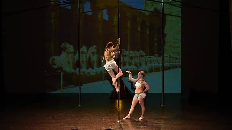 Коробенкова Анастасия, Есьман Маргарита. Шоу Transformation - Pole Dance Style