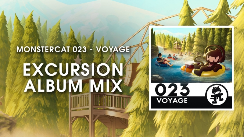 Monstercat 023 - Voyage (Excursion Album Mix) [1 Hour of Electronic Music]