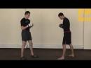 Тайский бокс Удар коленом с дистанции (Артем Левин)