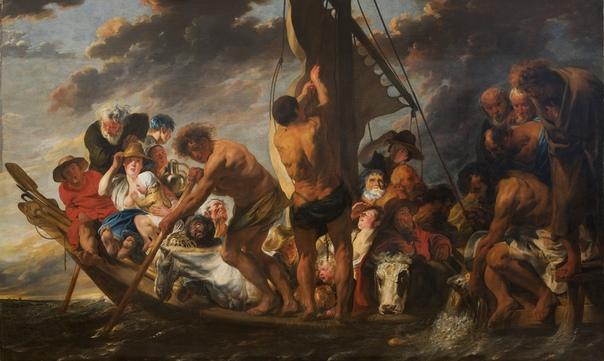 Якоб Йорданс (нидерл. Jacob Jordaens, 19 мая 1593 -1678) фламандский художник. Родился первым из одиннадцати детей в семье богатого торговца тканями. С 1607 года учился у Адама ван Ноорта. В