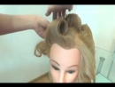 Причёска в стиле_ Pin up. Видео-урок