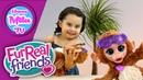 How To Monkey Furreal Friends Baby Cuddles My Giggly Monkey Hasbro HappyMilaTV 129