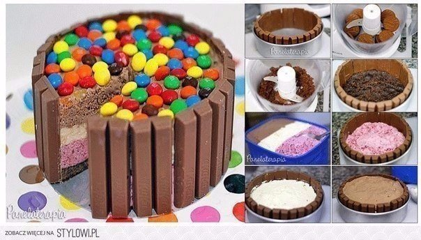 Торт своими руками детский рецепт с