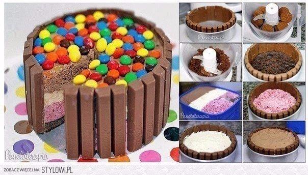 Идеи детских тортов-фото