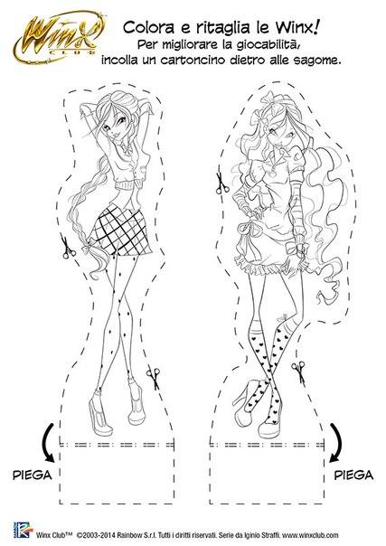 Winx Club Friend\'s: ¡¡Winx Temporada 6 dibujos para colorear!!