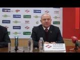 Пресс-конференция Спартак - Трактор (3:5)