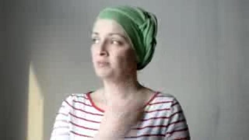 Как правильно завязать платок на голову с помощью булавок, чтоб получить необычн_low.mp4