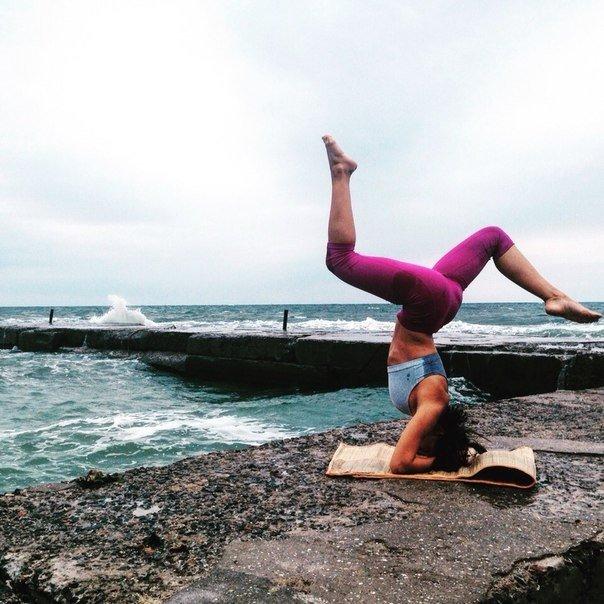 Помет ли йога скинуть лишнее ? (1 фото)