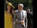 Джордж и Амаль прибывают на свадьбу Принца Гарри и Меган Маркл