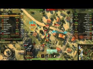 Взвод британской арты 10 уровень вытаскивает бой