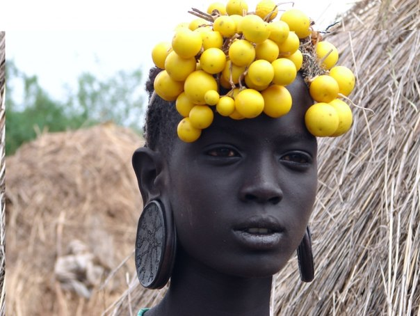 Красивые груди африканок