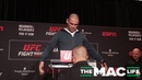 Carefree Cain Velasquez weighs in fully clothed at the UFC on ESPN 1 Official Weigh Ins