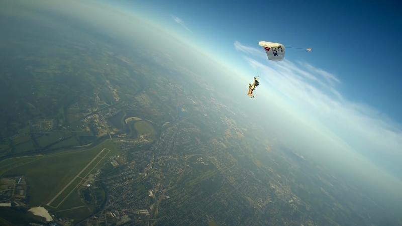 Epic Parachute-to-Wingsuit Rodeo Transfer ⁄⁄ Teem Originals