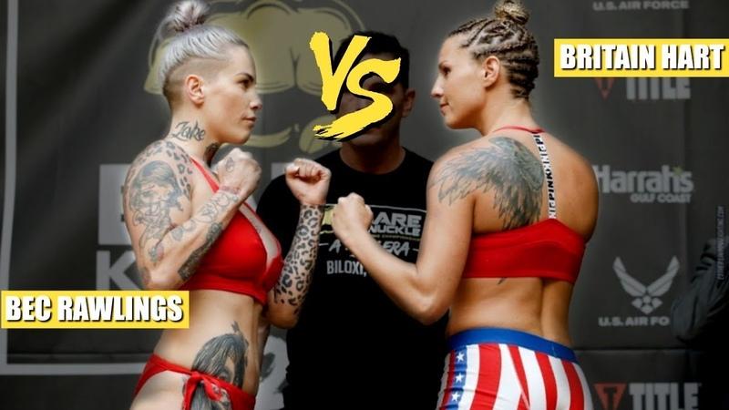 Finally Legal! BKFC 2 Bec Rawlings vs Britain Hart
