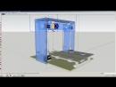 Проект в основном готов дорисовал 3Д принтер в Скетчапе