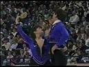 Олимпийские игры 1988 Фигурное катание пары Denise Benning Lyndon Johnston произвольная программа