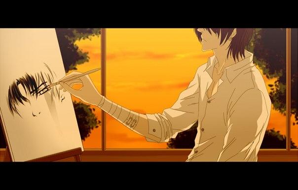 картинки аниме парни оборотни: