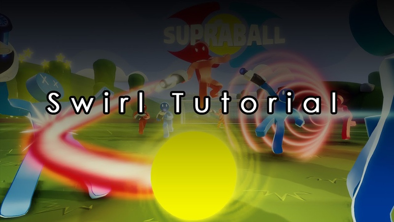How to: swirl in Supraball!