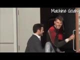 David De Gea and Juan Mata and On Training Manchester United, Juan Mata Welcome To Man Utd 2014