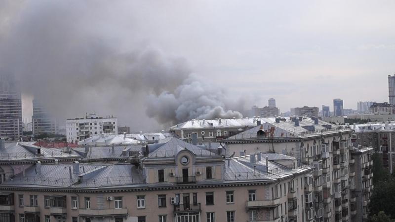 Пожар Панфилова 4 14 06 2018